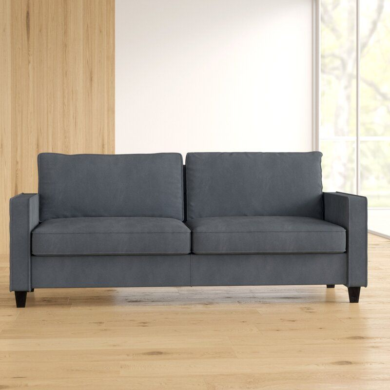 Zipcode Design Somerville Microfiber Microsuede 32 1 Square Arm Sofa Reviews Wayfair In 2020 Sofa Microsuede Zipcode Design