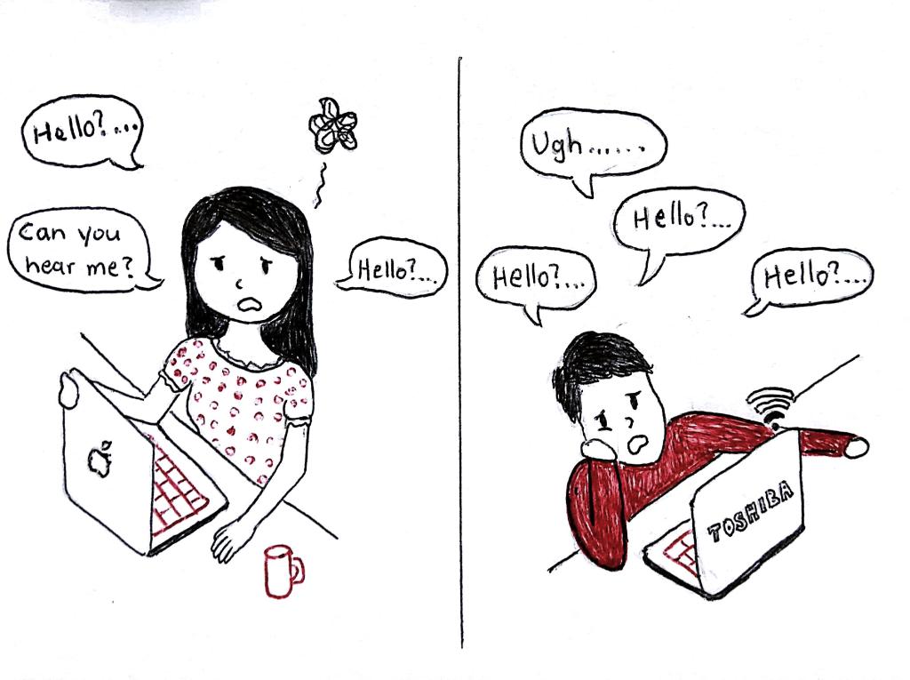 Skype long distance relationship
