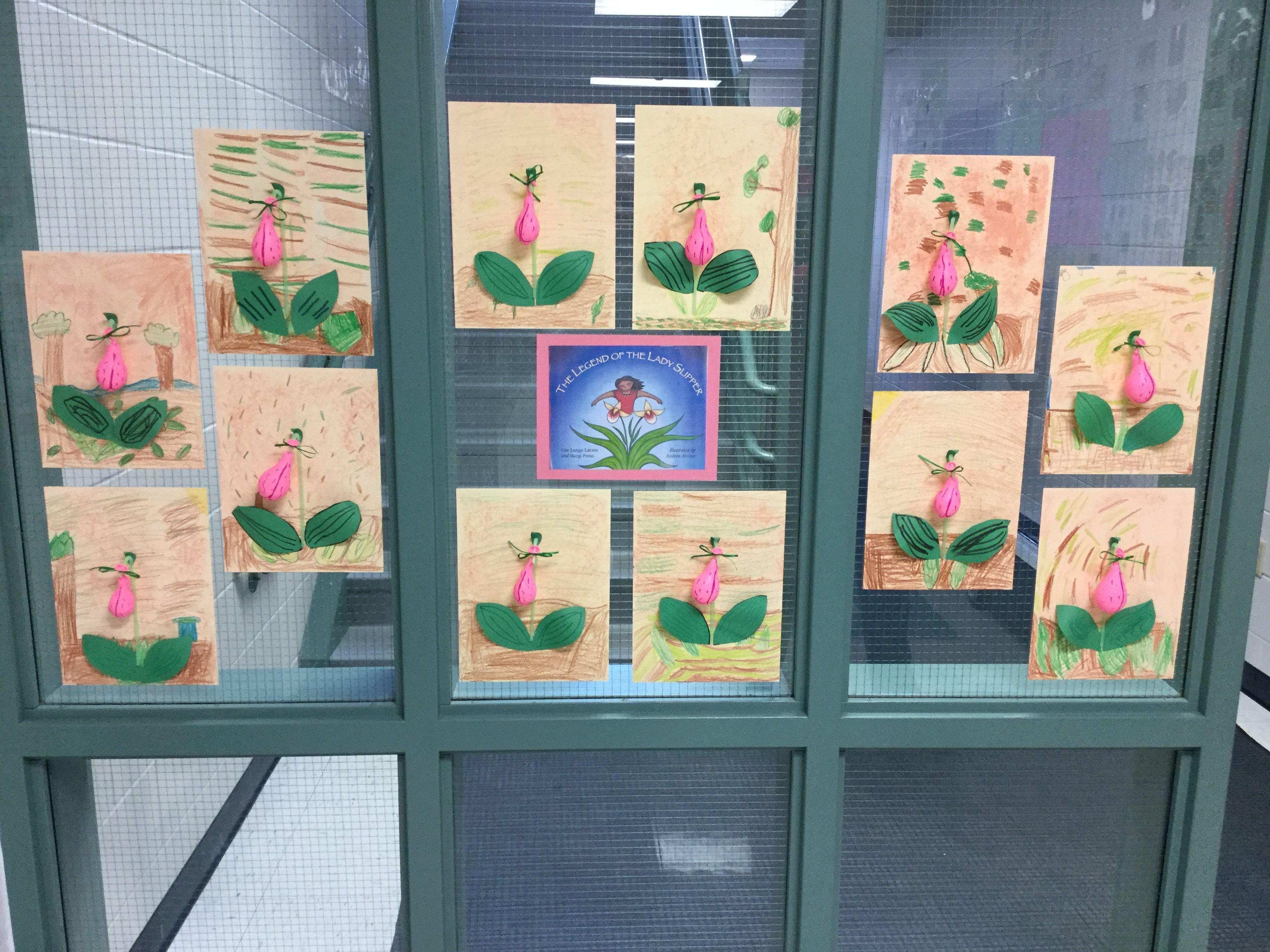 Lady Slipper Craft Legend Of The Lady Slipper Kindergarten Themes Preschool Crafts Lady Slipper Flower