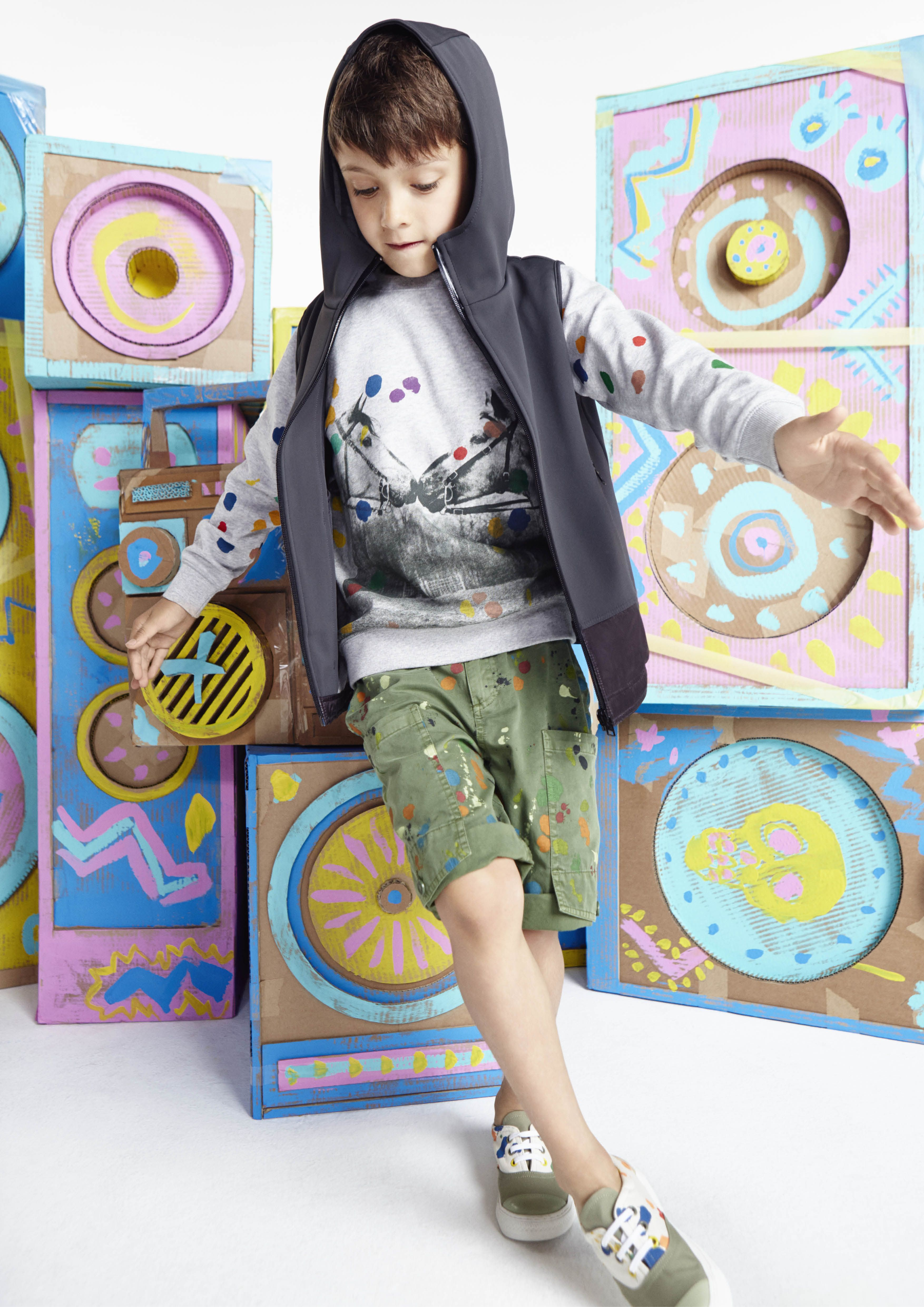 60b3f869e6ab I m loving the Paint Splash Trendy by Stella McCartney Kids for Spring  Summer This super fun look for baby