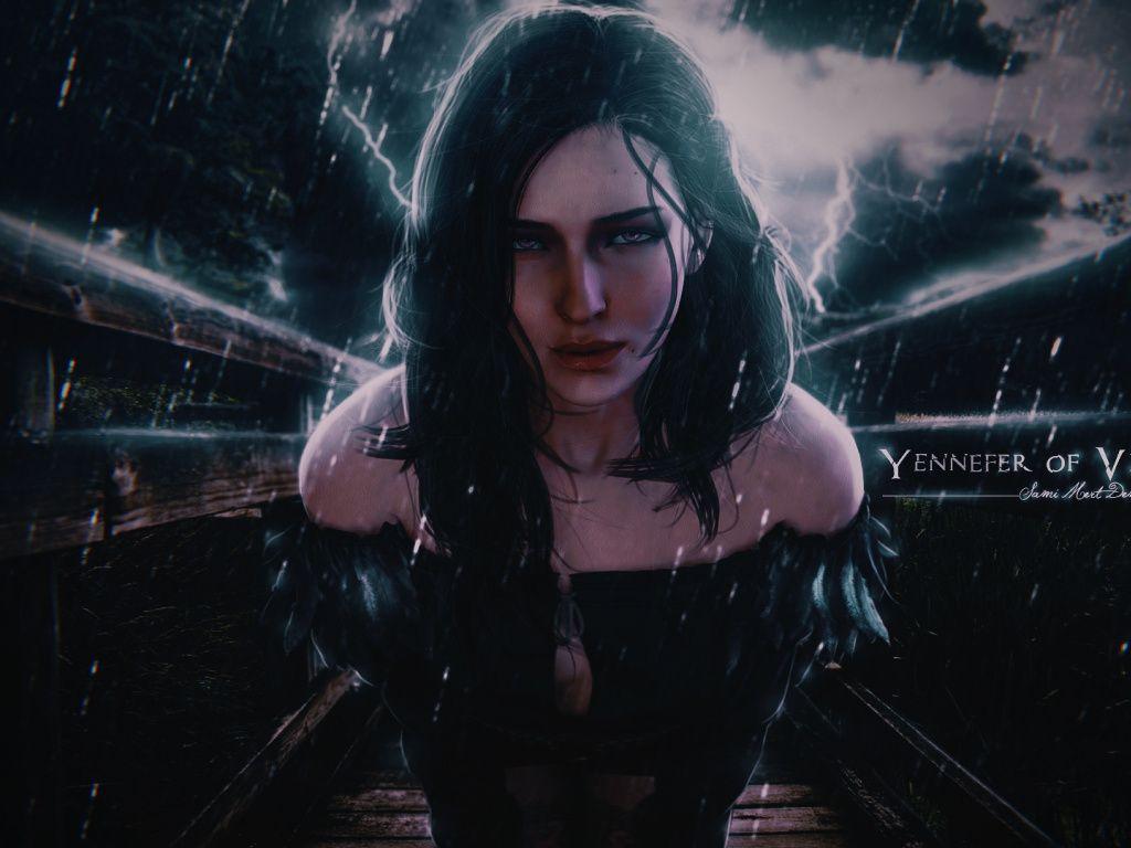The Witcher 3 Wild Hunt Game Girl Art Wallpaper