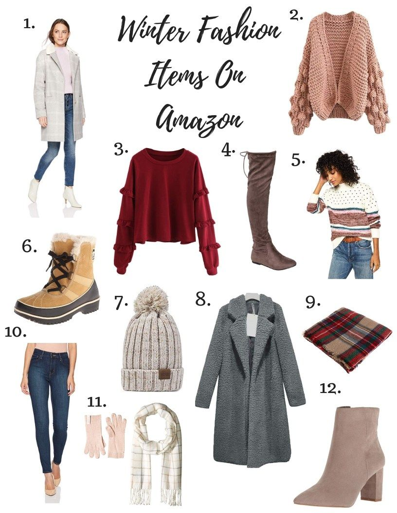 Winter Outfits You Can Buy On Amazon  Easy Winter Outfit Ideas