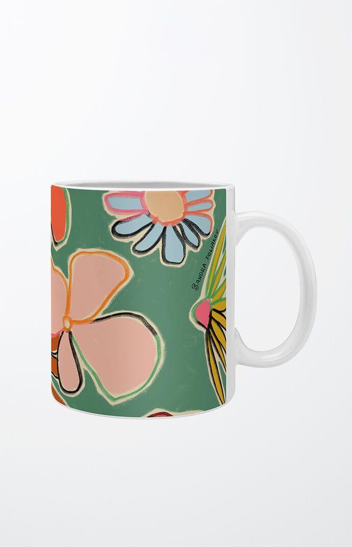 Deny Designs Womens SANDRAPOLIAKOV VINTAGE GA - Green size 12Oz