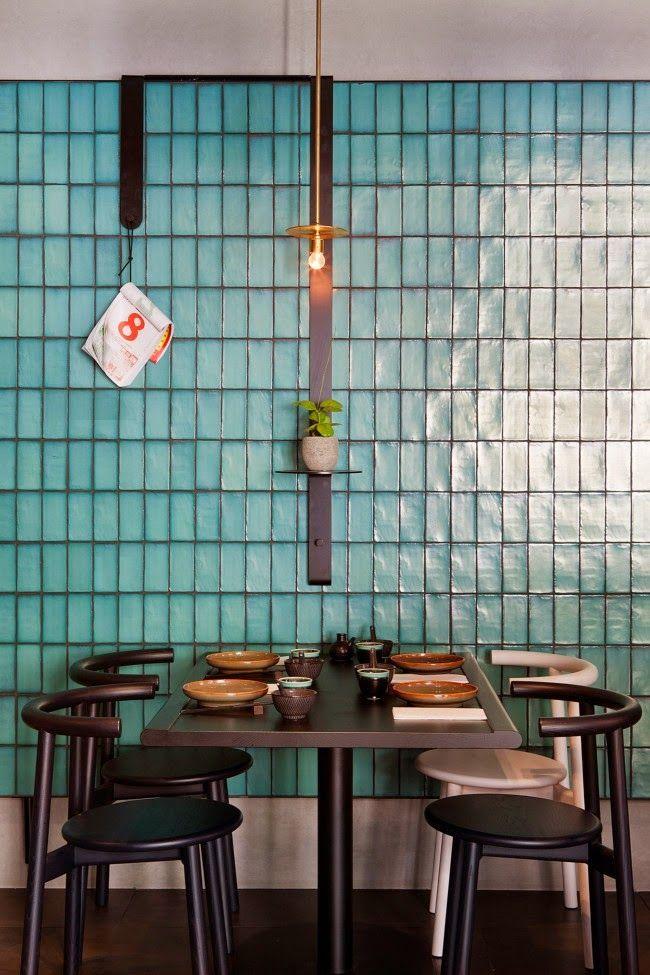 Melbourne / East  Restaurant chinois / Australia Pinterest - Carrelage De Cuisine Mural