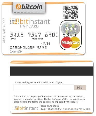 Bitcoin-based credit card reportedly due in two months