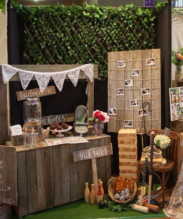 Rustic Wedding Decorations Hire: Rustic Lemonade Stand/seating Board/lace Bunting/lawn