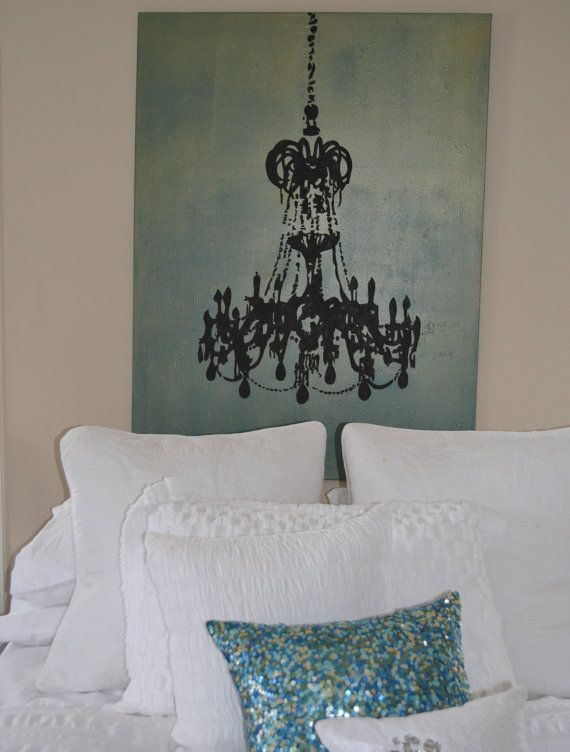 Image result for chandelier silhouette painting airbnb pinterest image result for chandelier silhouette painting aloadofball Gallery