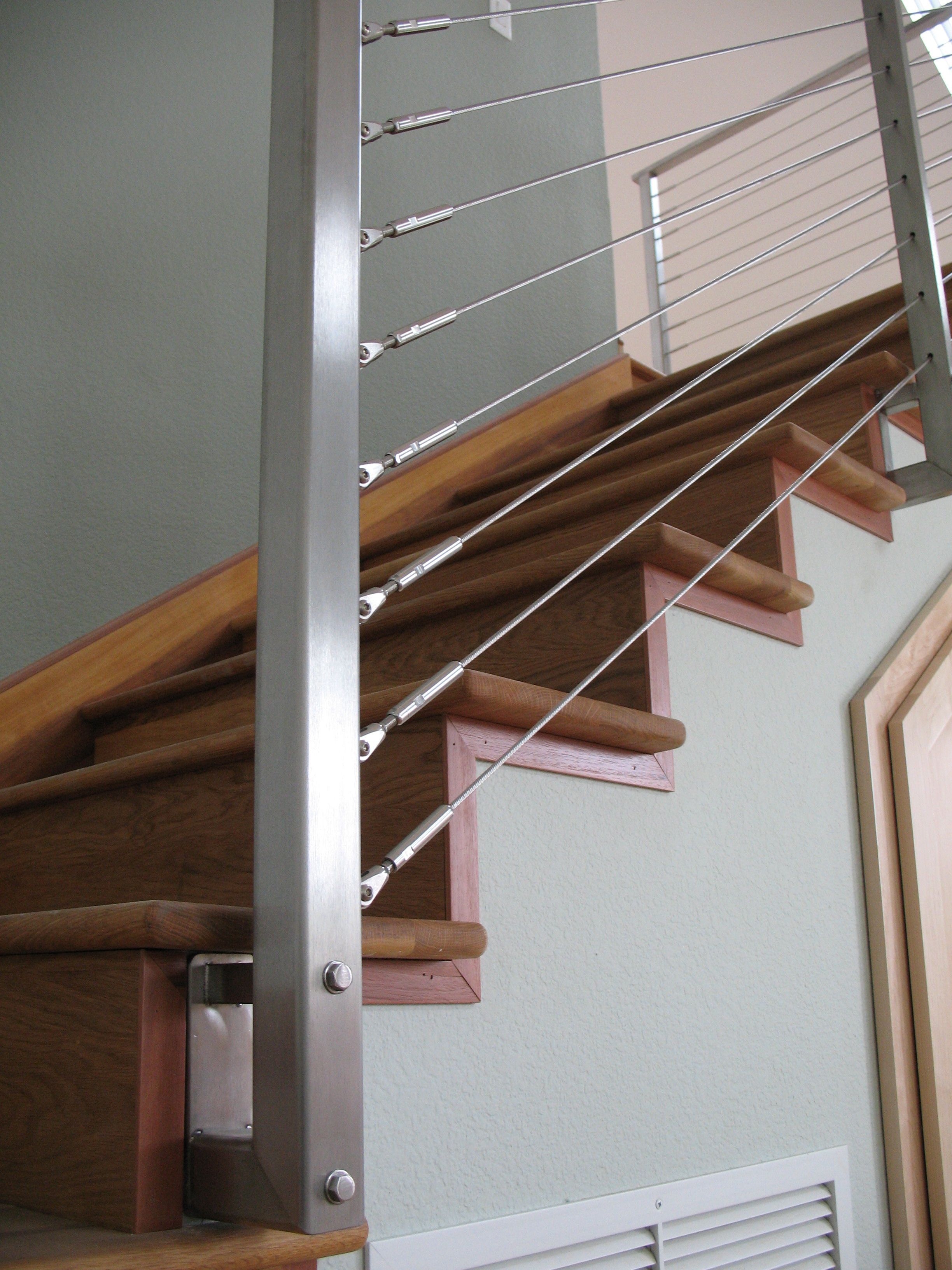 Pin by santa cruz construction guild on santa cruz - Interior stair railing contractors ...