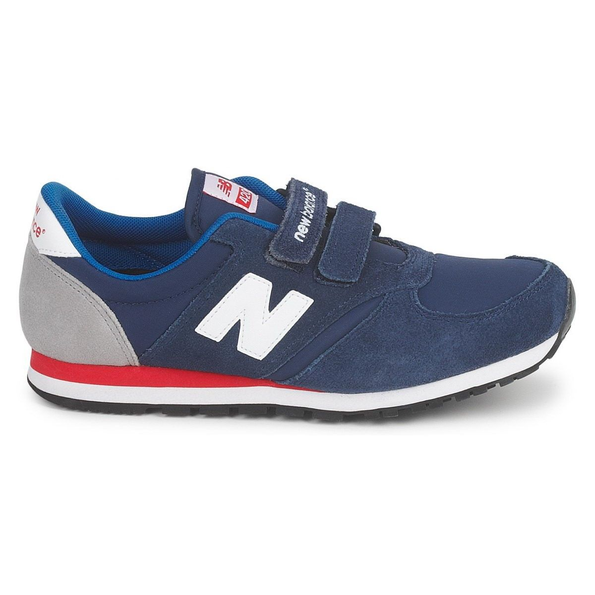 Newest New Balance Ke420 Ltr Navy Red For Kid | New balance shoes ...