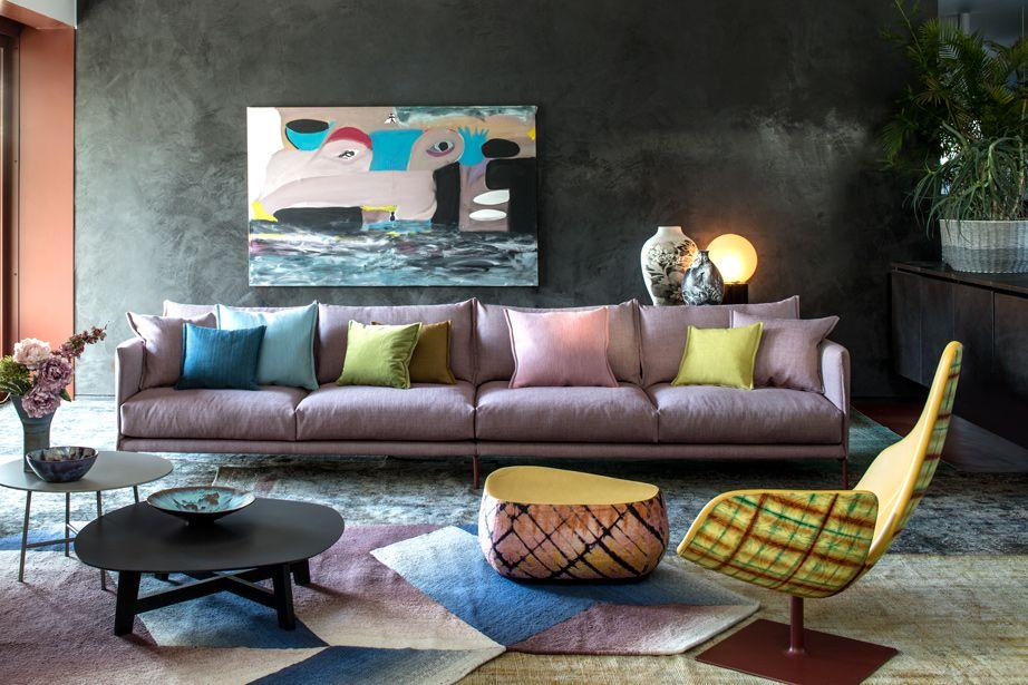 Pin On Multi Color Interior Multi colored living room furniture