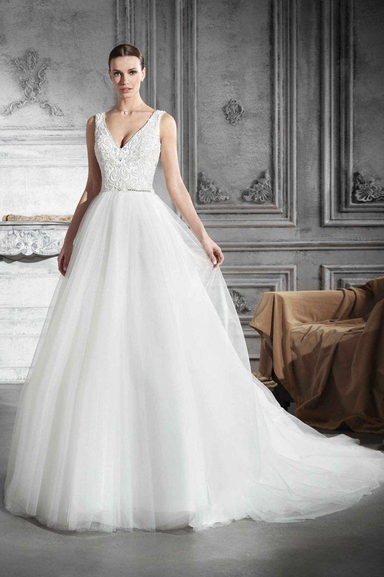 Demetrios Wedding Dresses Open Front
