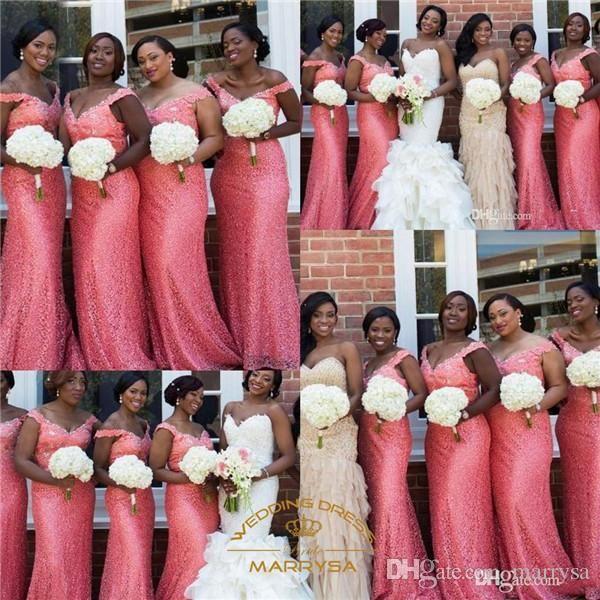 Bling Blush Pink Bridesmaid Dresses Cheap 2015 Sheath Coral Purple ...
