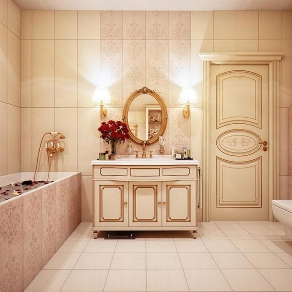 Bathroom Design, Tarditional But Luxury Bathroom Design