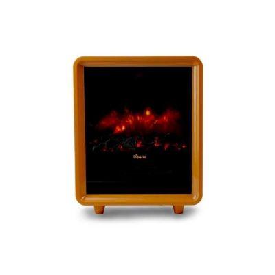 Mini Fireplace Heater Orange Space Heater Fireplace Portable