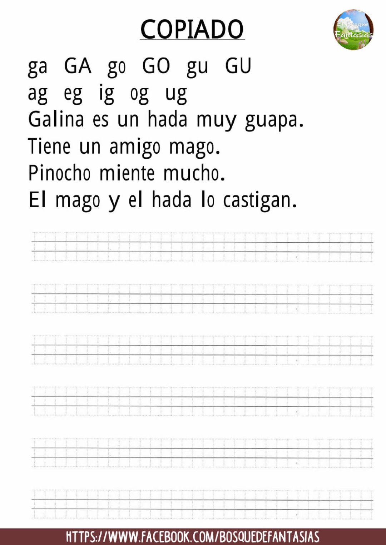 Cuadernillo De Silabas Hoja 8 Libros De Lectoescritura Silabas Actividades De Letras