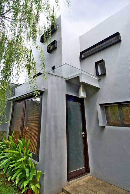 Department Of House Modern Minimalist House In Indonesia Modern House Plans Designs Modern Minimalist House Small House Design Small House Interior Design