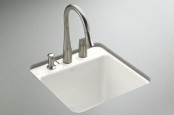 Kohler Park Falls 22 X 21 Undermount Drop In Service Sink
