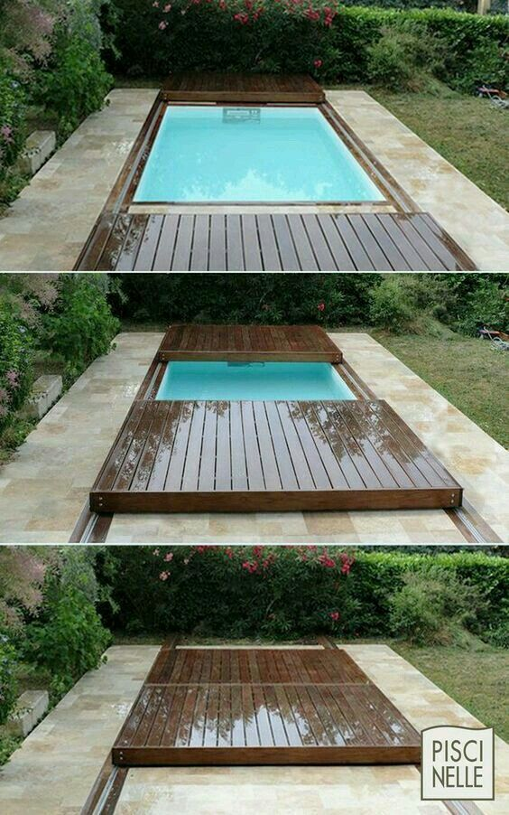 Terrasse Piscine Mobile : Le Rolling Deck Piscinelle | Бассейны | Pinterest  | Decking, Pool Designs And Swimming Pools