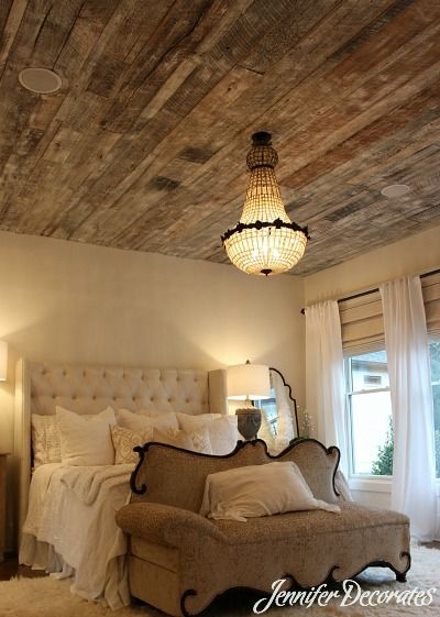 Wood Ceiling Ideas Jennifer Decorates Home Bedroom Bedroom Decor Home