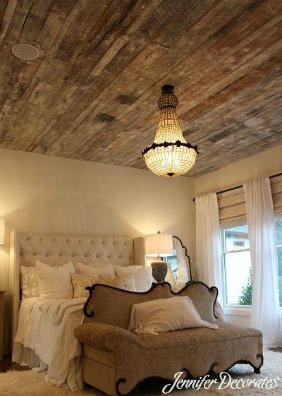 Pallet Wood Ceiling Ideas