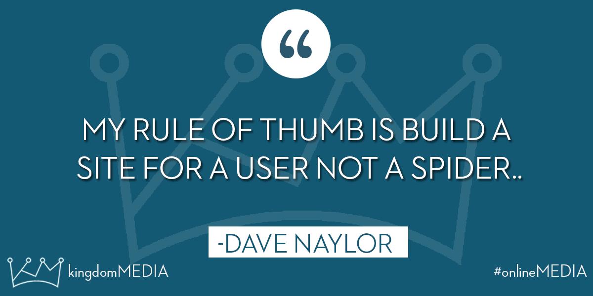 My rule of thumb