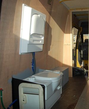 Fitting A Toilet In Mercedes Sprinter Van Conversion
