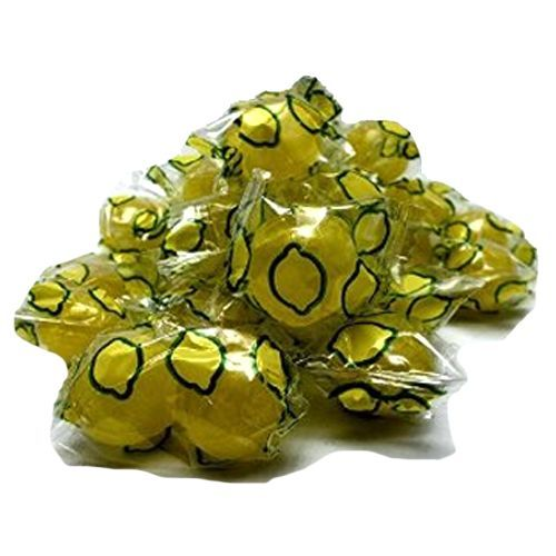 Washburn's Sour Lemon Balls Hard Candy - 3 LB Bulk Bag