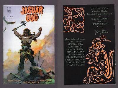11 VEROTIK COMICS Igrat Satanika Jaguar God Canete Danzig Frazetta Book GOTH TPB