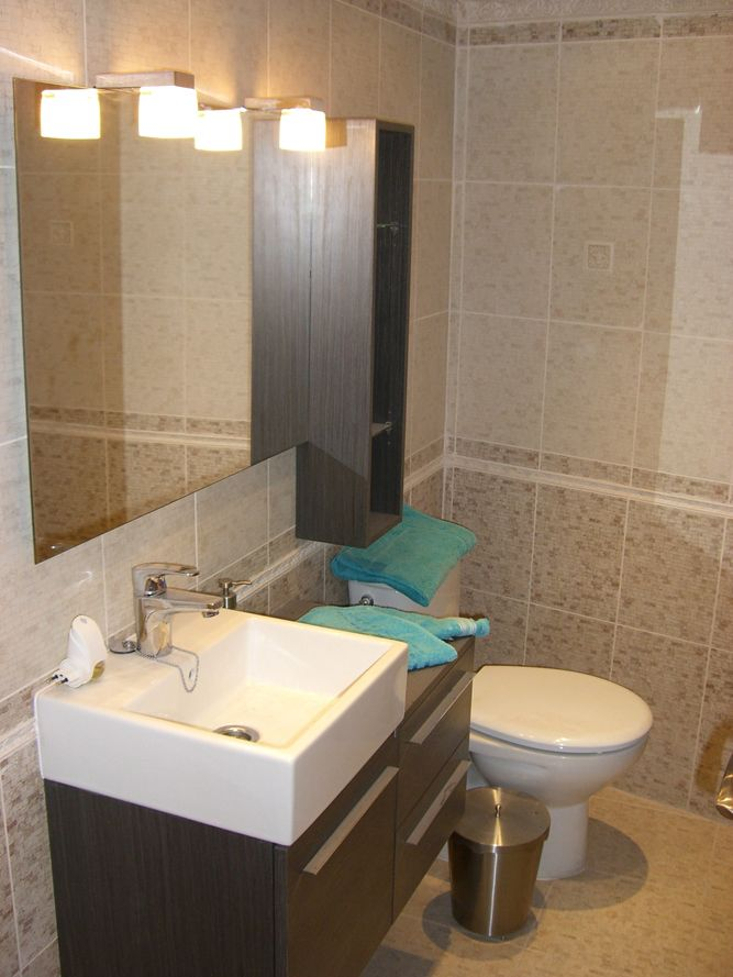 Decoraci n de ba os fotos small bathroom and spaces for Ideas decoracion banos