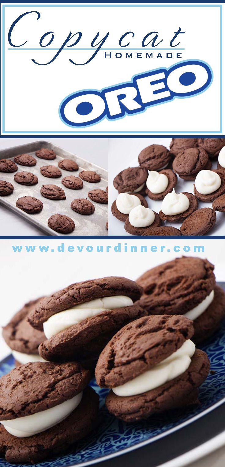 Homemade oreo cookie copy cat receta ranas las horas y gabriel forumfinder Images
