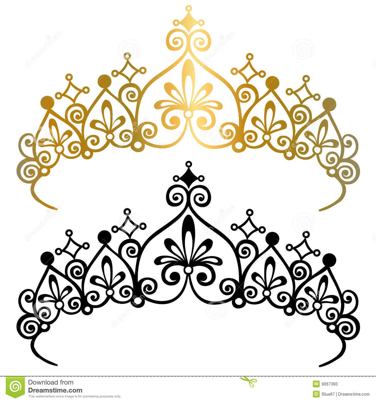 Princess Tiara Crowns Vector Illustration - Download From Over 39 Million High Quality Stock Photos, Images, Vectors. Sign up for FREE today. Image: 9067360