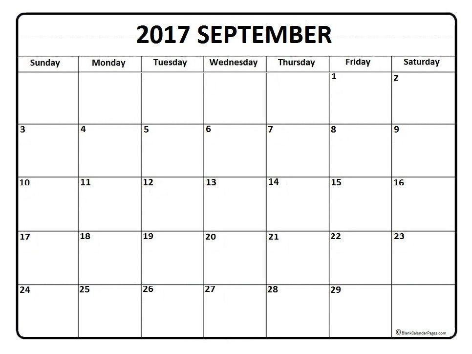 Best 25+ September calendar 2017 ideas on Pinterest Week - monthly calendar