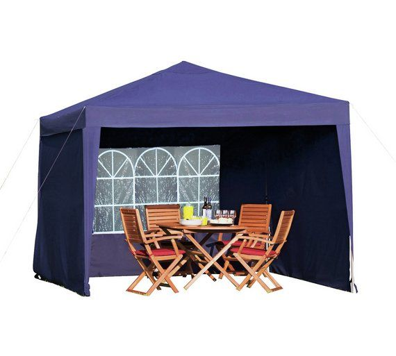 Buy Argos Home 3m X 3m Pop Up Weather Resistant Garden