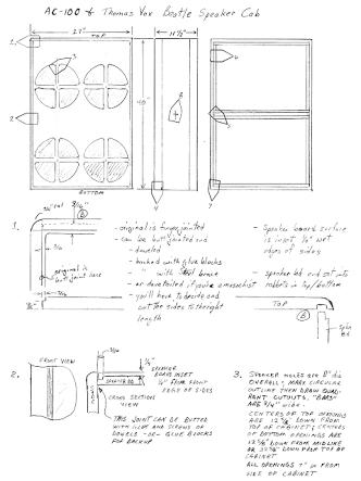 Resultado de imagem para guitar amp cabinet plans | Guitar Amp ...