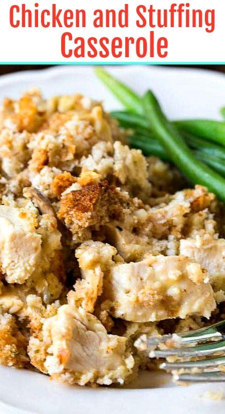 Chicken Stuffing Casserole images