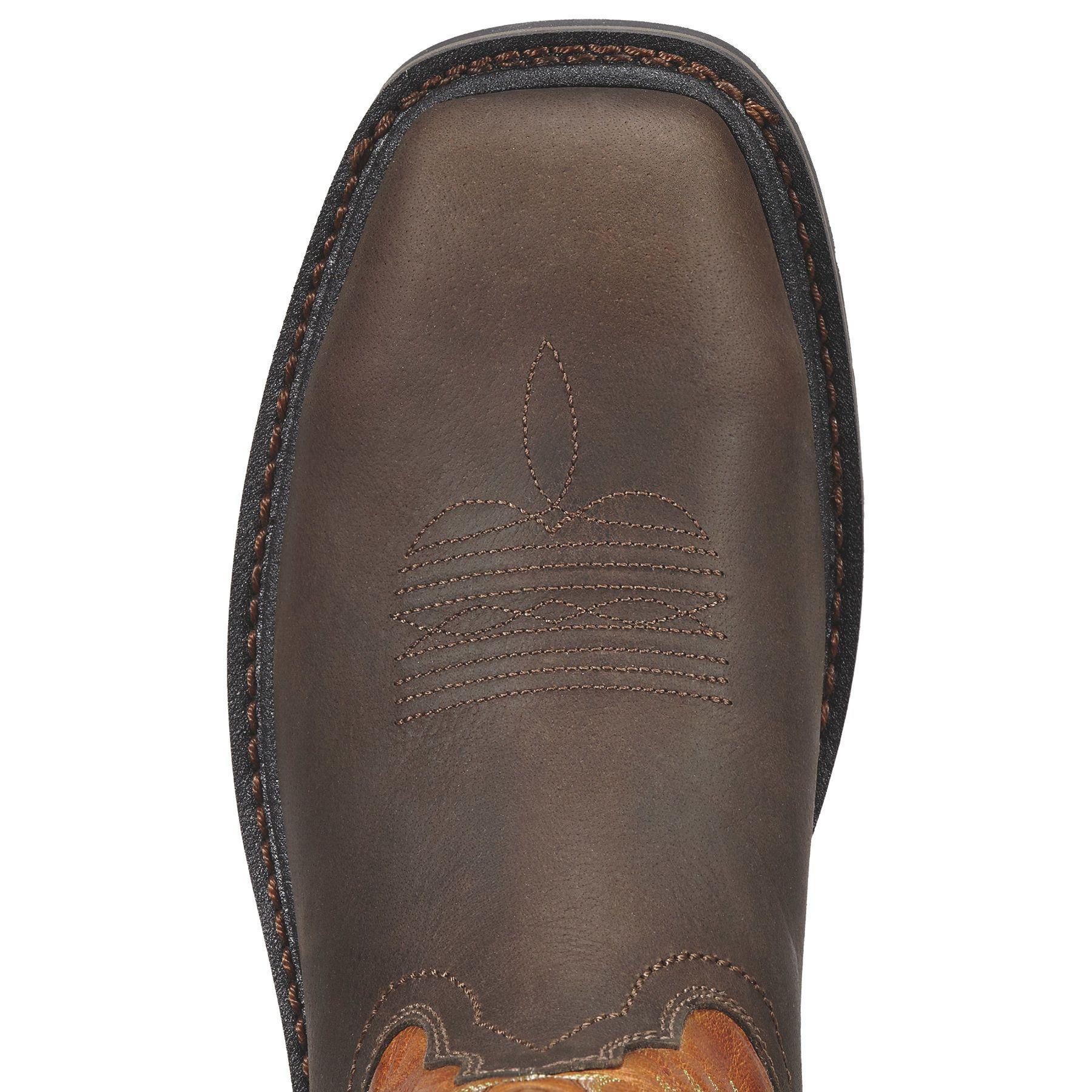hot sale online good service most popular Men's Sierra Wide Square Toe Steel Toe Work Boots in Aged ...