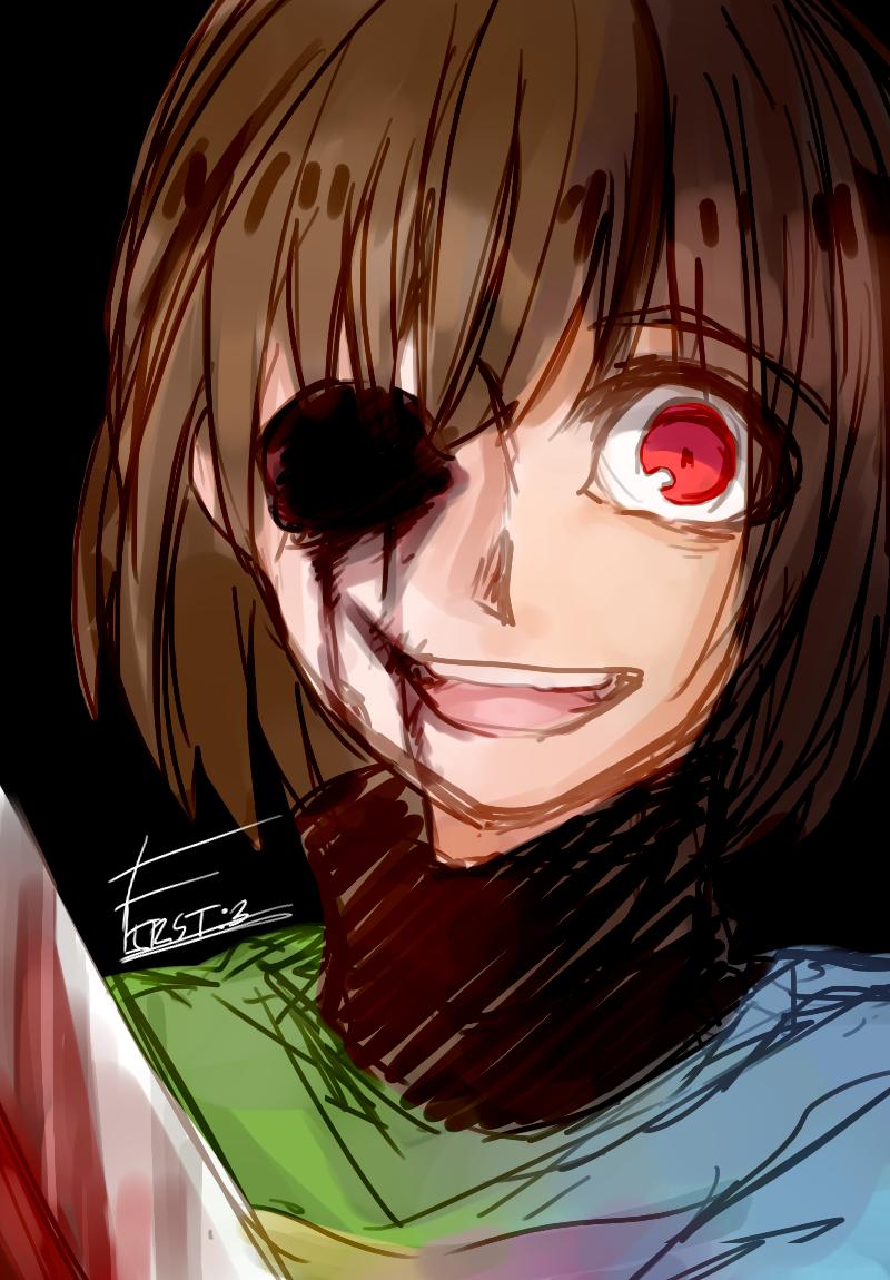 Anime girl scary