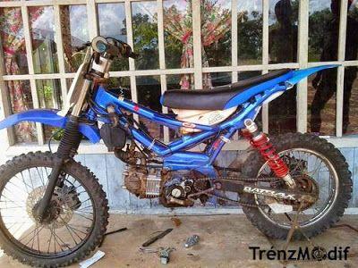 Modifikasi Motor Trail Bebek Motormodif 26