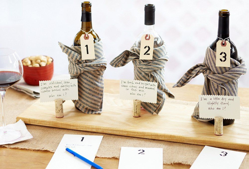 Party Guests Will Love This Wine Tasting Guessing Game
