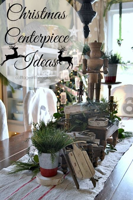 Christmas Centerpiece Ideas Holiday and party tablescapes