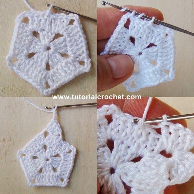 Tutorial Crochet: Crochet Natale:Tutorial e Schema per Stelle