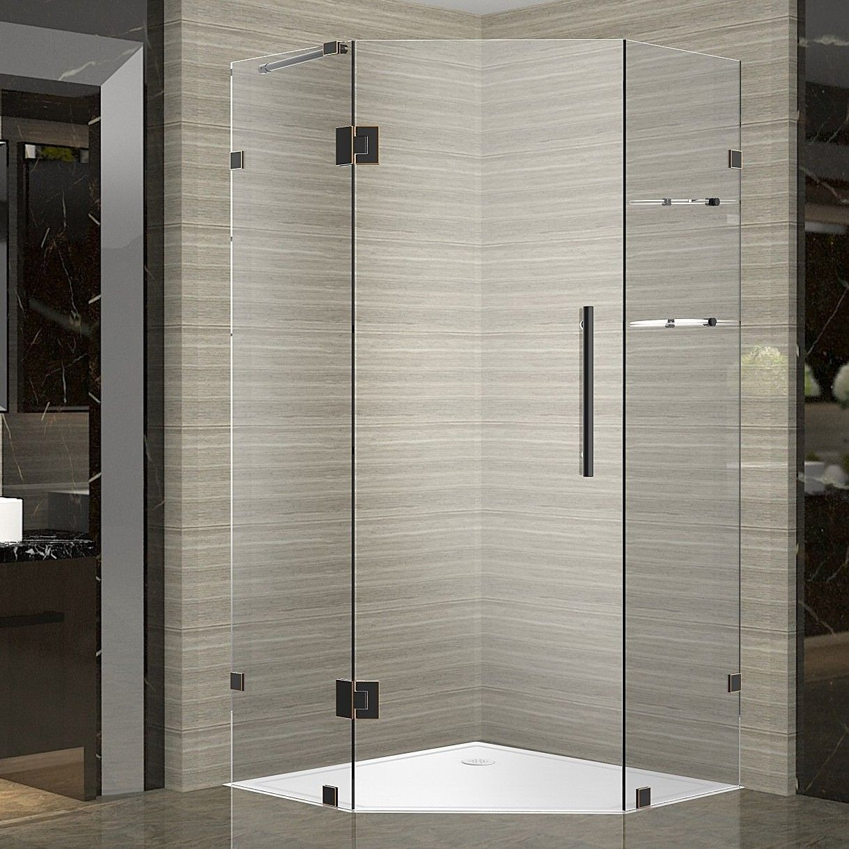Neoscape Gs 42 X 72 Hinged Frameless Shower Door Products