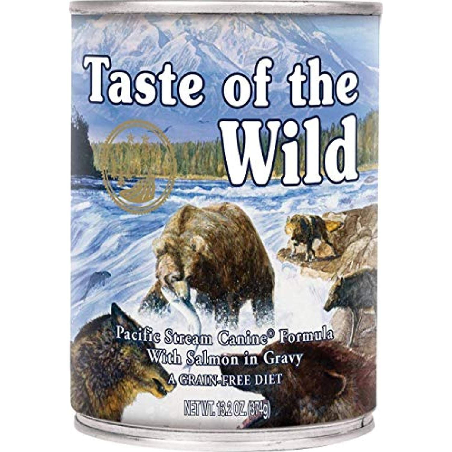 Taste Of The Wild Pacific Stream Canned Dog Food 10 13 2 Oz