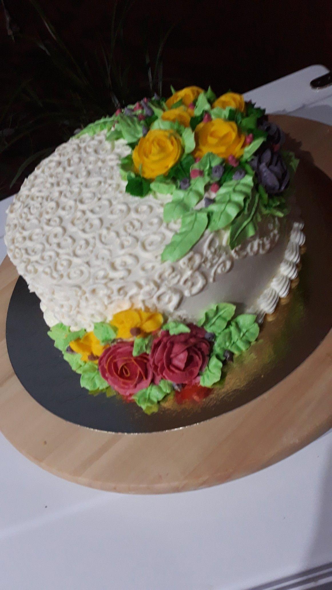 Kwiaty Maslane Tynk To Smietana Z Mascarpone Cake Desserts Food