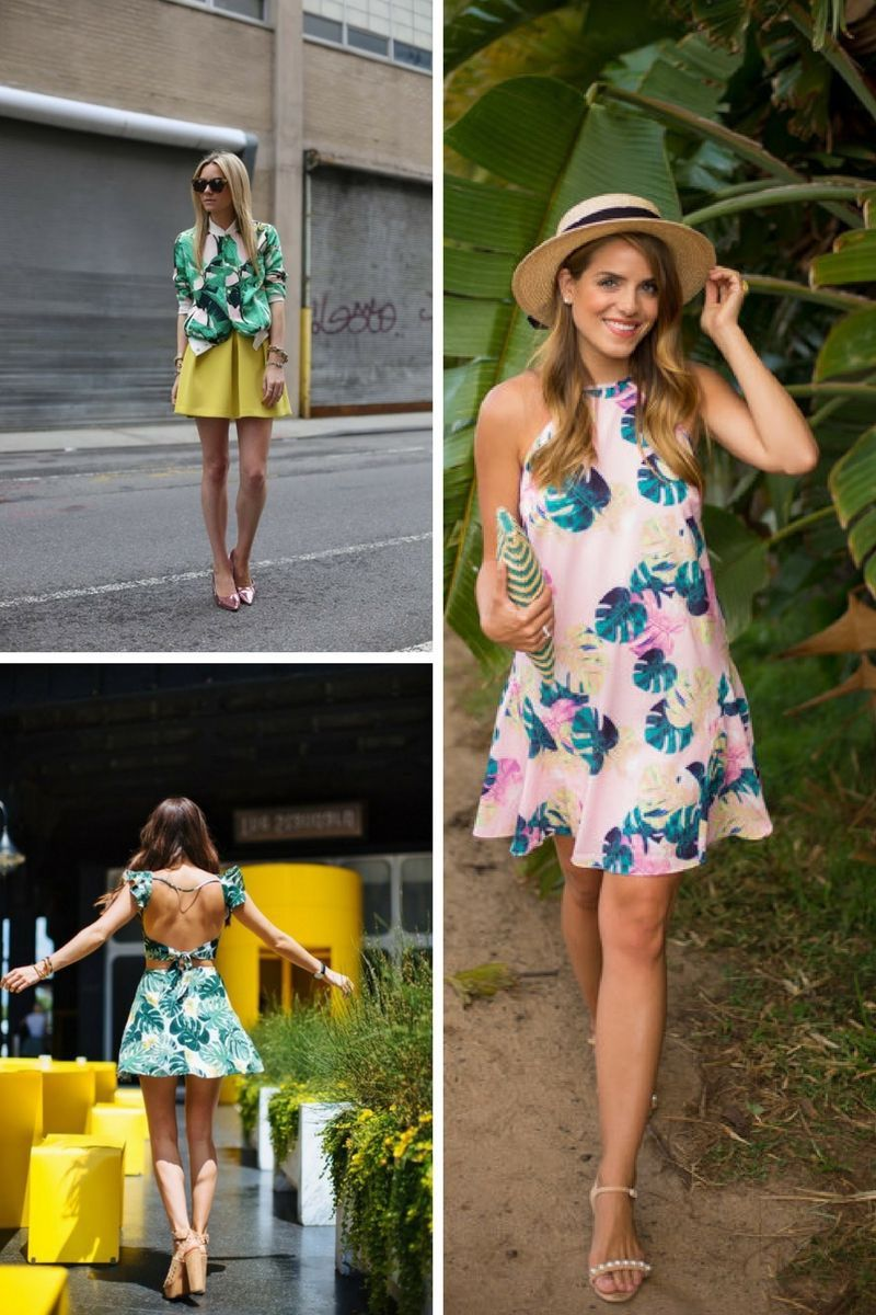 d88437da1d7 Tropical Print is back in fashion next summer 2018 Tropical Print is Summer  2018 Must Try Trend (5) 2019