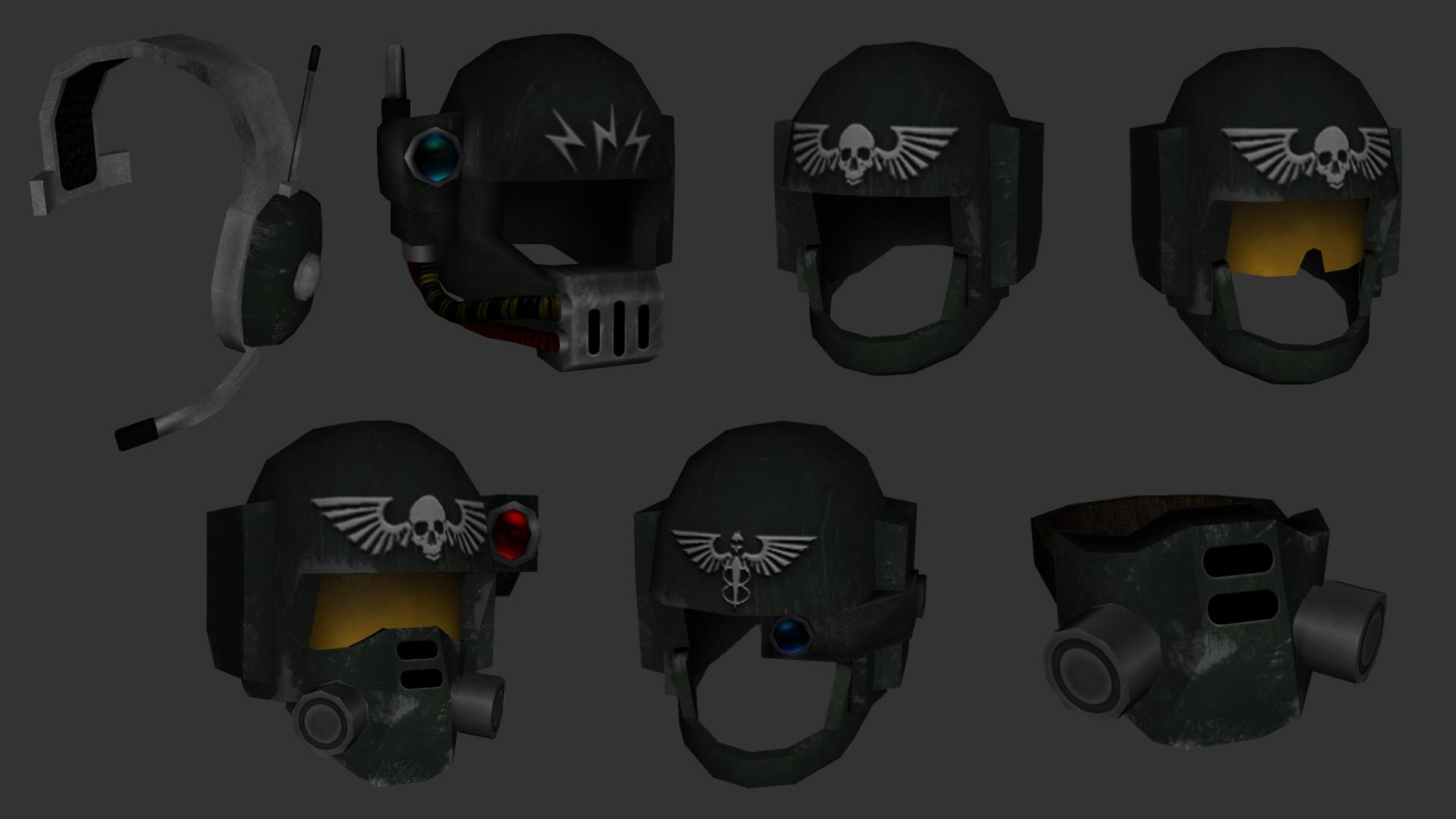 Mote Ig Helmets Png 1920 1080 Imperial Guardsman Man Of War Stormtrooper Helmet