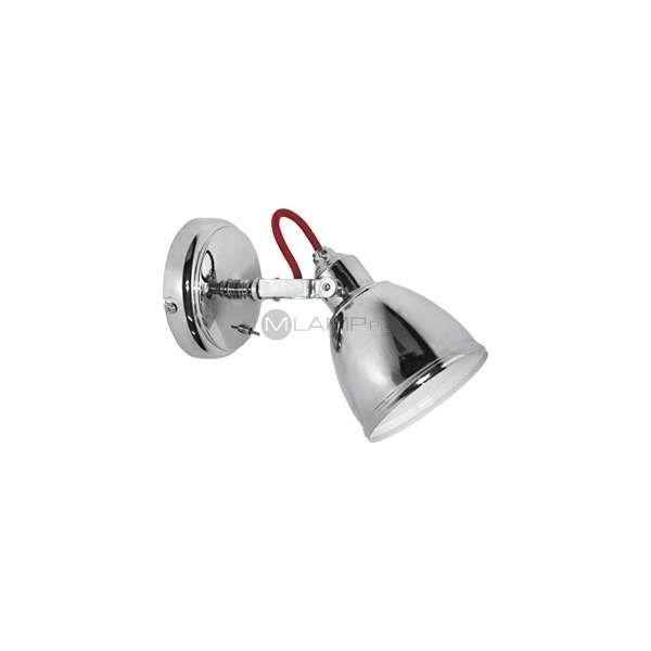 Kinkiet Lampa Scienna Axe 5446 Nowodvorski Metalowa Oprawa Industrialna Chrom Ceiling Lights Track Lighting Wall Lights