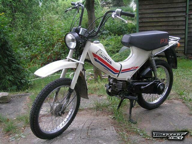 Wonderbaarlijk Honda px | scooters.wheels and wings and Things | Honda BP-24