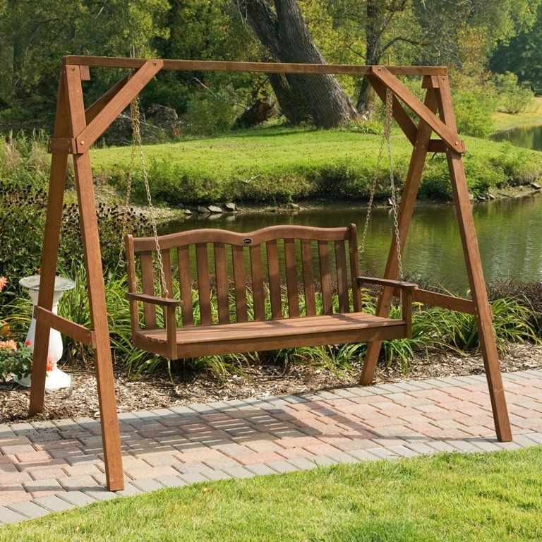 High Quality How To Build A Wooden Porch Swing Frame