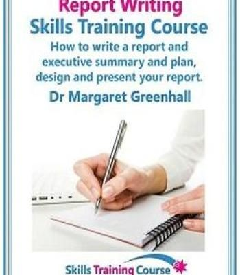 Report Writing Skills Training Course PDF Business Pinterest - training report